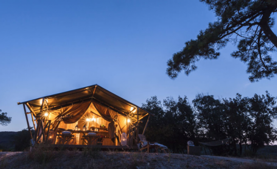 Top 5 campings met lodgetenten