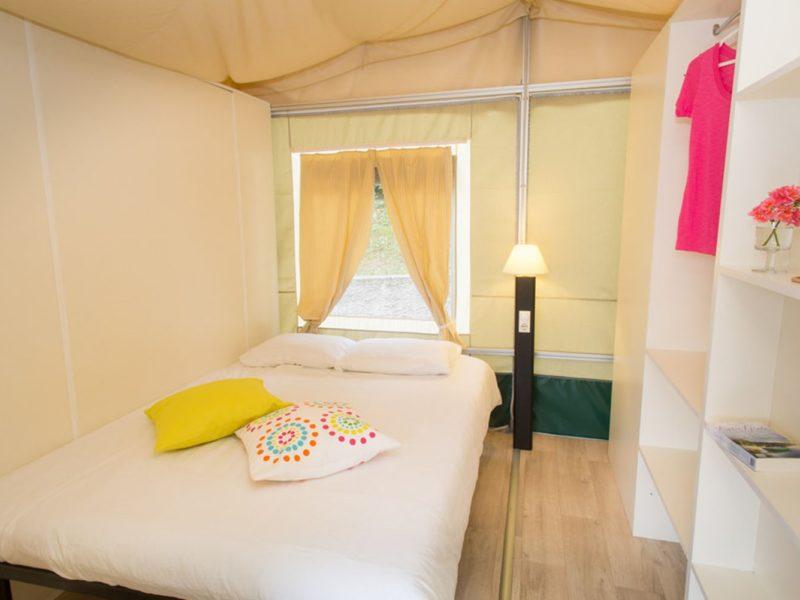 lodgetent selectcamp slaapkamer