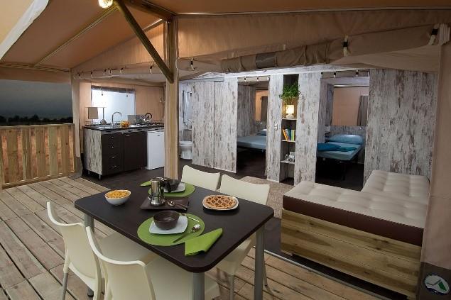 Camping Village Conca d'Oro - mooiste safarilodges van Europa