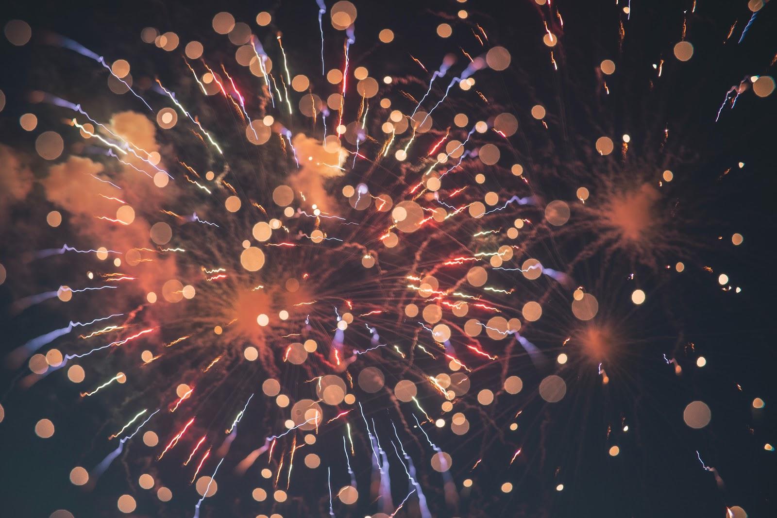 Vuurwerk - nieuwjaar in Italiaanse sferen